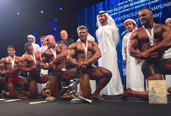 Fujairah Body Building Competition